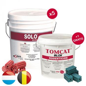 Solo Blox (8 KG) * PROMO * 5 + 1 Tomcat Blox (4 KG)