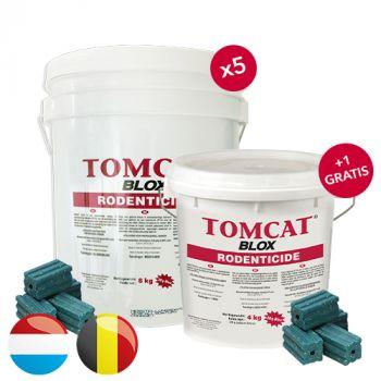 Tomcat Blox (8 KG) * PROMO * 5 + GRATIS TOMCAT BLOX 4 KG