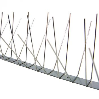 Killgerm® RVS Spikes - 4 rijen (10 meter)