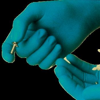 Handschoen Nitril Ongepoederd (doos 100 stuks)