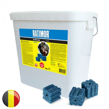 Ratimor Brodifacoum Wax Block (5 kg) BE